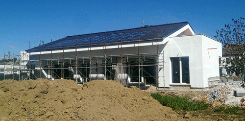 edificio in corso di completamento