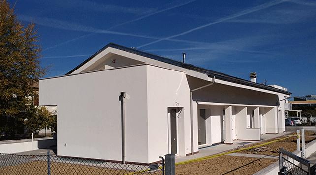 Villa bifamiliare in classe a s4 luca nanni architetto rimini - Architetto rimini ...