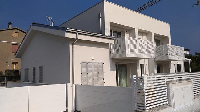 4 appartamenti villa classe A