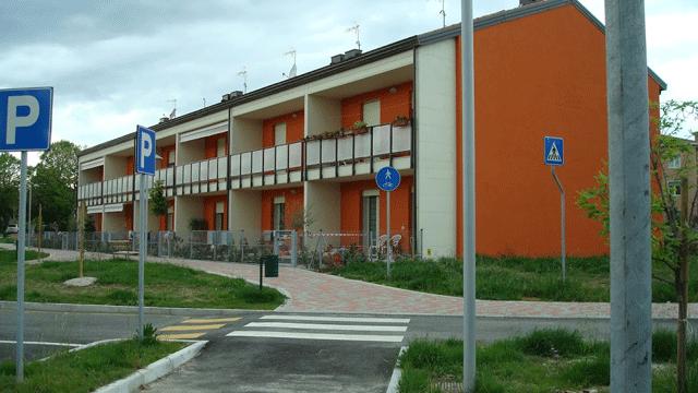 Il blocco A da unità immobiliari