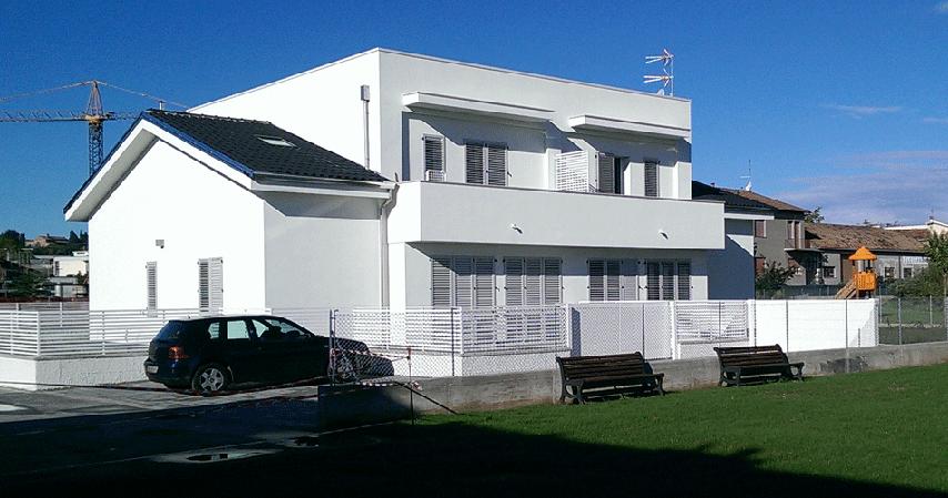 Vista del retro dell'edificioS1c